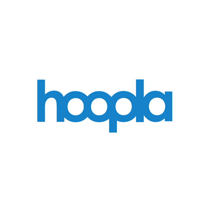 Hoopla Digital Borrow eBooks, films and more! Available 24/7, and no late fees.